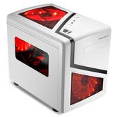 鑫谷 派立方机箱 MATX小板型机箱 分体独立架构/支持标准大电源 小型台式机电脑机箱