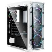 鑫谷LUX拉克斯机箱 透明面板侧板 支持ATX大板、背线台式机电脑主机箱