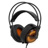 【顺丰包邮】赛睿SteelSeries Siberia V2狂热之橙西伯利亚V2耳机 狂热之橙版 呼吸灯耳机主动降噪
