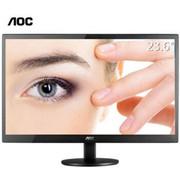 【行货保证】AOC M2470SWD2护眼不闪屏电脑液晶显示器23.6英寸广角屏