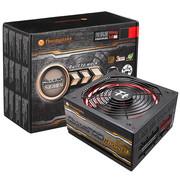 Tt(Thermaltake)额定530W Smart 530M Riing 红色版 电源(全模组/编织模组线/Riing 14cm智能温控风扇)