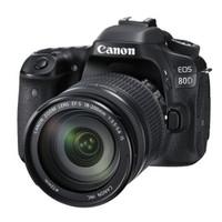 佳能(Canon)EOS 80D 单反(EF-S 18-135mm f/3.5-5.6 IS USM镜头)