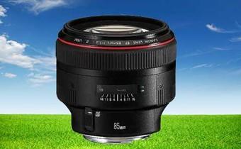 佳能(Canon) EF 85mm f/1.2L II USM 中远摄定焦镜头 黑色 顺丰包邮