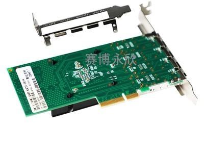 ZBNET I340F4 千兆4口光纤网卡intel82580芯片