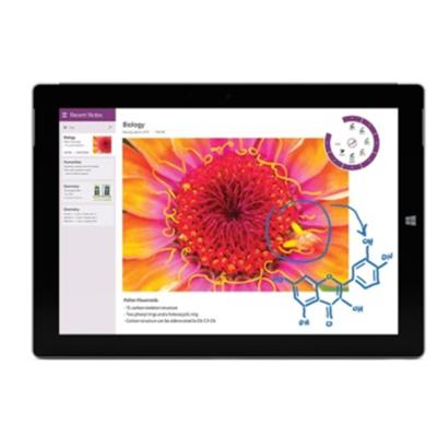 【顺丰包邮】微软 Surface 3(4GB/128GB/WiFi)(Intel Atom x7-Z8700 4G 128G固态 10.8英吋1920*1280触控屏)银色