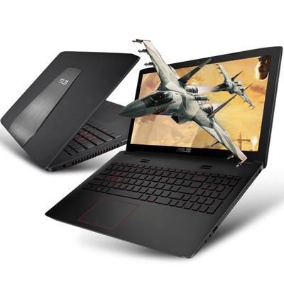 (北京华硕授权代理)华硕 ZX50JX4200 玩家国度 15.6英寸游戏笔记本i5-4200H 4G 1TB GTX950M 2G独显 全高清1920x1080 FHD屏)