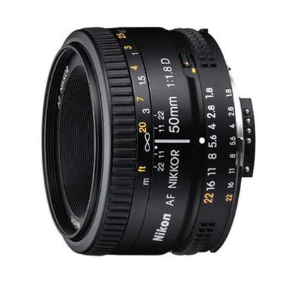 尼康 AF 50mm f/1.8D(尼康标定焦镜头)尼康用户都应拥有的经典镜头!