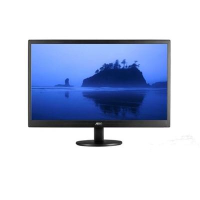 AOC E2070SWN 19.5英寸LED背光节能窄边框液晶显示器 黑色