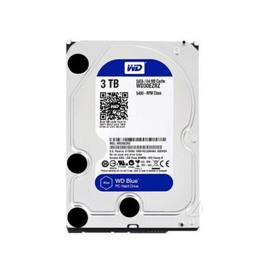 西部数据 蓝盘3TB SATA6Gb/s 64M(WD30EZRZ) 台式机通用
