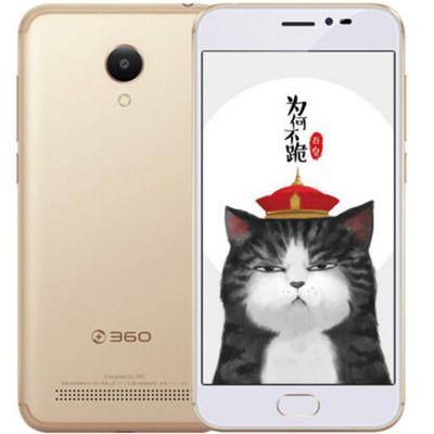 【现货包邮】360F5手机 金色 移动4G(2G RAM+16G ROM)