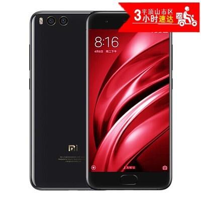 小米(MI) 小米6手机 亮黑 全网通(6G RAM+64G ROM)标配