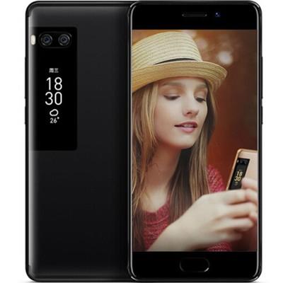 魅族 PRO 7 4+128G 全网通 移动联通电信4G手机 曜影黑 行货128GB