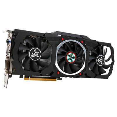 七彩虹 iGame1060 烈焰战神X-6GD5 电脑游戏显卡 GTX1060独显
