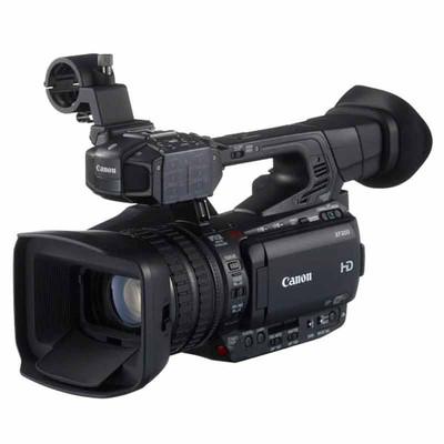 佳能(Canon)XF200 高清专业数码摄像机(高品质、高性能、灵活机动) 黑色