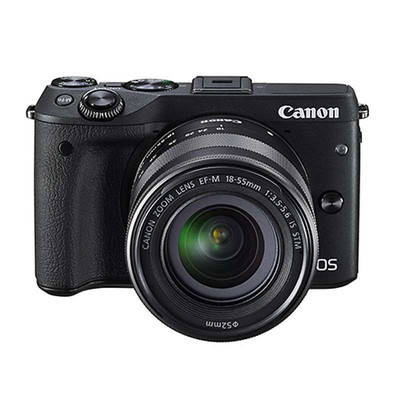 Canon 佳能 EOS M3套机(18-55mm,55-200mm)