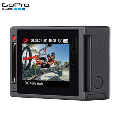 GoPro HERO4 Silver 运动摄像机 银狗4 户外运动摄像机(约1200万像素)