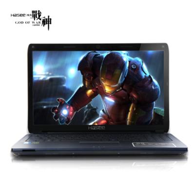 【顺丰包邮】神舟 战神K660D-i7D2 15.6英寸游戏笔记本电脑