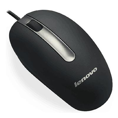 联想Lenovo M3803A 有线USB光电鼠标(白色、黑色、 粉红色、蓝色)