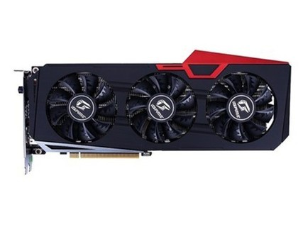 七彩虹iGame GeForce RTX 2060 SUPER Ultra OC 游戏电竞独立显卡 黑色
