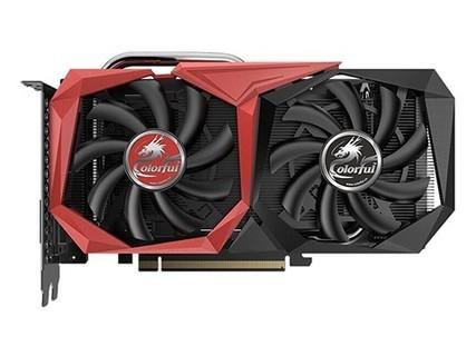 七彩虹(Colorful)战斧 GeForce GTX 1650 4G GDDR5 电竞游戏显卡 战斧1650-4G