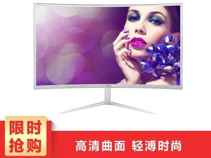 AOC C2708V 27英寸 曲面VA广视角电竞游戏HDMI全高清电脑液晶显示器 C2708V 27英寸