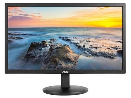 AOC显示器23.8英寸 I2480SXHE IPS窄边台式HDMI高清电脑显示屏 24 I2480SXHE+VGA数据线