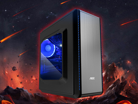 I7六代游戏主机 家用办公 i7 6700/256G SSD/GTX1060 6GD5/8G内存